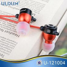 ULDUM 2012 hot fashion light weight earphones and headphone