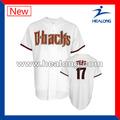 Barato de la sublimación de encargo jerseys de béisbol, Venta al por mayor encargo del uniforme del béisbol