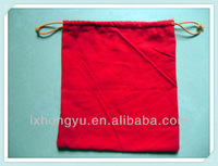 facotry wholesale drawstring jewelry pouch cotton