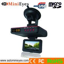 Chelong DVR with Anti police radar detector gun function 1080P GPS DVR speed radar detector