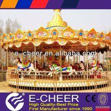 Superior model children theme park children\s musical carousel