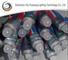 Colorful 12mm led dmx pixel light string for Christmas Home Decor