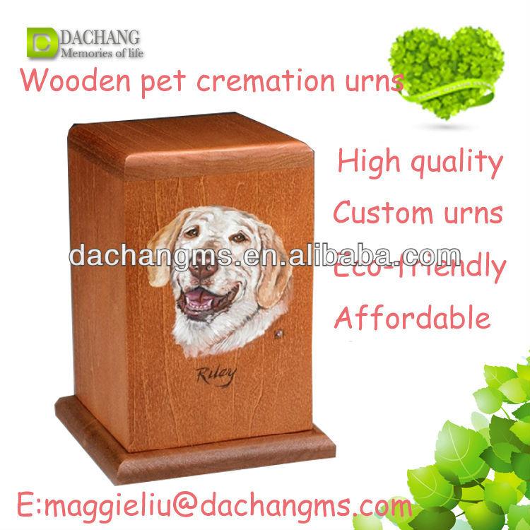 Pet Cremation Urns Wood Wooden Pet Cremation Urns