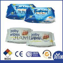 40pcs 80pcs baby wet tissue OEM welcomed