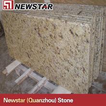 prefab yellow granite bar top