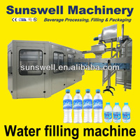 Fully automated water purifying and bottling machine
