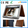 Hot sale smart fashion leather case for samsung galaxy p5200