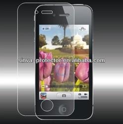 Hot Sale 98% Korea High Clear Screen Guard Anti-Glare Mobile Phone Screen Protector For Iphone 5 Ipad 4 2 mini S4 3