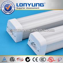 CE ROHS TUV SAA ETL 100-277v male and female plug aluminum housing T5 led tube with fixture 6ft