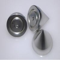 High precision machining aluminum metal cones