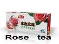 Kakoo rose chá beber ice & ice rosa chá beber e chá de leite rosa chá