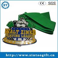 Top grade antique custom sports metal medal display cases