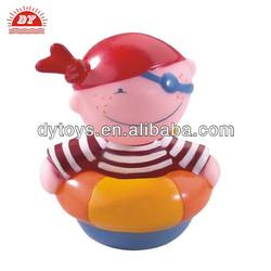 Wholesale Custom Make Pirate Figure Bath Squirt Toy