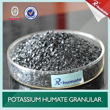 Potassium Humate Shiny Crystal / Powder / Granular , High Humic Acid