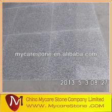 Light grey granite tile bullnose edge