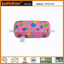 100% espuma de poliestireno beads travesseiro rolamento / vários linda tubo impresso travesseiro / potes coloridos rolamento microbeads travesseiro tubo