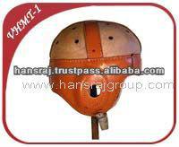Vintage Real Leather Helmet