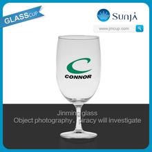 sherry wine glass free market hot selling glassware Logo printing sangria glass