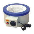 Laboratorio capa de la calefacción con agitador indio por