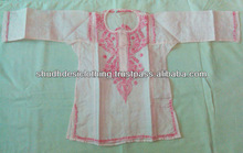 girls / baby embroidery handmade kurti or tunic