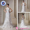 SA3671 sheer neckline Pakistani wedding dresses mermaid halter top wedding dresses