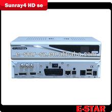 Sunray4 a8p dm800se SR4 Triple tuner DVB-S(S2)/C/T + Original SIM A8P security Card