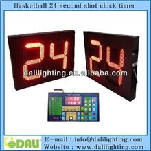 14 24 seconds wireless digital shot clock for basketball