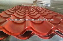 COLOR GLAZED METAL SHEETS / ROOF TILES/ CLADDINGS IN UAE , SAUDI ARABIA
