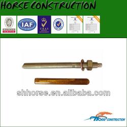 Horse glass capsule ,hardener and quartz additives,anchor rod