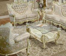 Mahogany Sofa Set Classic Design Indoor Furniture