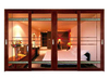Fashionable aluminum alloy balcony double /triple sliding screen doors