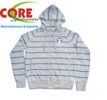 Terry fleece hoodie