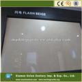 Flash de color Beige de la pared de mármol losa