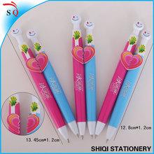 lover couples heart gift pen