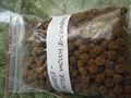 marrom escuro pérolas de tapioca