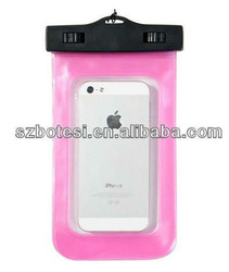 Factory!!!High quality mobile phone waterproof bag for iphone 4/4s with competitive price