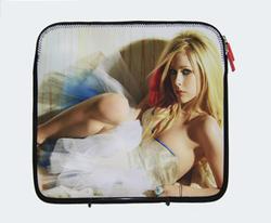 Heat transfer print neoprene laptop case