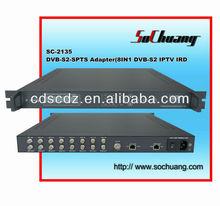 SC-2135 DVB to IP Gateway/IPTV Channel DVB Receiver