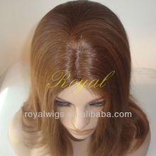 White Women European Hair Jewish Wigs with Kosher Certificate From Manufacturer