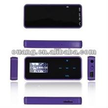 2012 New TF-card slot Ouang MP3 free Logo printing