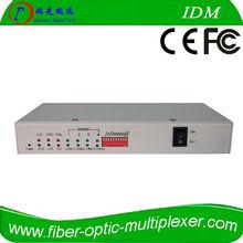 2 channel e1 and 4 port 100M ethernet over e1 converter