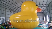 The duck inflatable cartoon,sealed giant inflatable cartoon