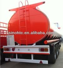 3 axles 40-60 cbm Venezuela fuel truck trailer