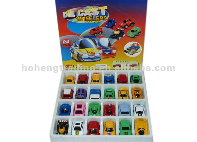 24 pcs pull back Die-cast car