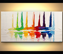 new design colorful abstract oil painting simple decorative art