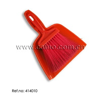 plastic Broom with Dust Pan (414010)