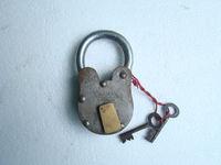 Antique Pad Lock