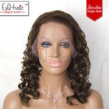 Top quality cheap brazilian virgin lace front wigs