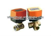 ball valve for refrigeration circuit