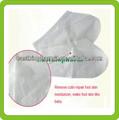 qualidade bebê foot removedor de pele morta descartáveis foot meias